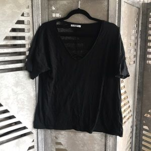 Zara Criss Cross T-Shirt!!